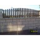 Ogrodzenie z bloczków łupanych