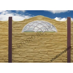 Przęsło betonowe ,ogrodzenie betonowe, producent, montaż